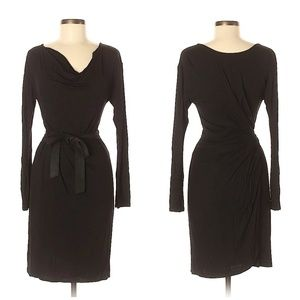 BCBGMAXAZRIA Black Casual Dress